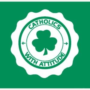 IRISH CATHOLIC BADGE NEW