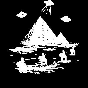 evolution alien ufo außerirdische pyramide ägypten