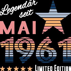 Mai 1961 geboren | Geburtstag | Limited Edition