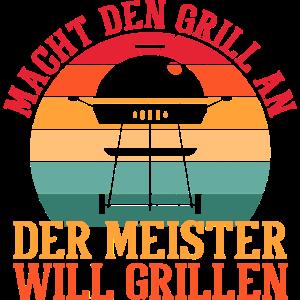 Grillen Grillmeister BBQ Barbecue Sommerfest