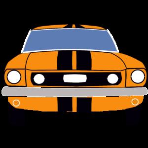 Retro Classic Car