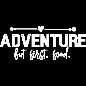 Abenteuer aber erstes Essen - Lustige Feinschmecker
