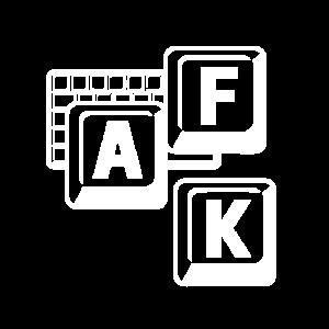Away from Keyboard, Funny Gamer Saying Design