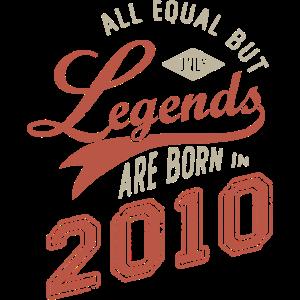 Geburtstag 11 Jahre LEGENDS ARE BORN IN 2010