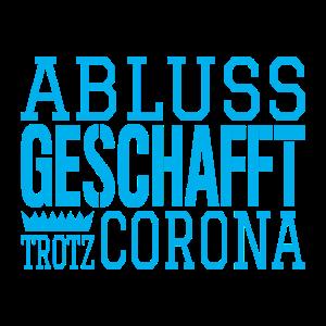 Abschluss geschafft corona