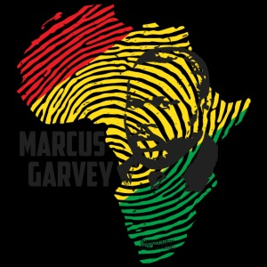 MARCUS GARVEY AFRICAN FINGERPRINT