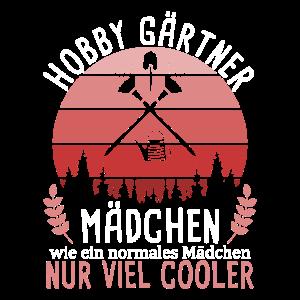 Hobby Gärtner Mädchen Spruch Landschaftsgärtner