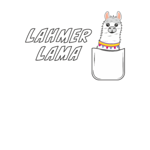 BRUSTTASCHE LAHMER LAMA