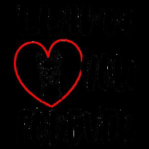 Valentinstag Lama Statement