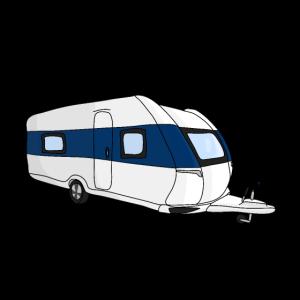 Wohnwagen Urlauber