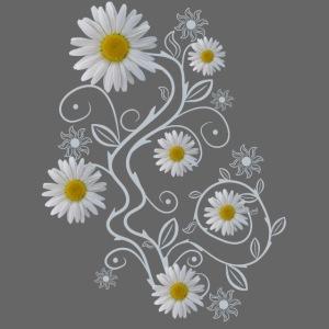 Ornament Margeriten Blüten Blumen Gänseblümchen
