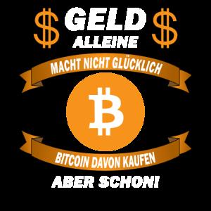 Geld alleine macht nicht glücklich – Bitcoin