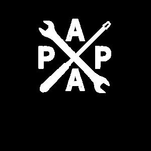 Papa Handwerker Vatertag Baby Geschenk