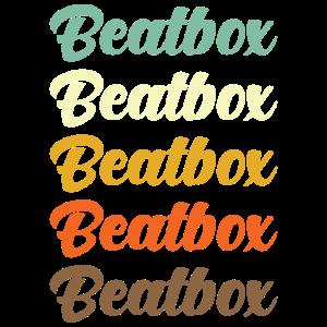 Beatbox Beatboxer Beatboxing Retro