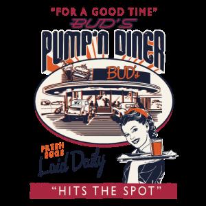 Drive-In Diner Vintage Shirt