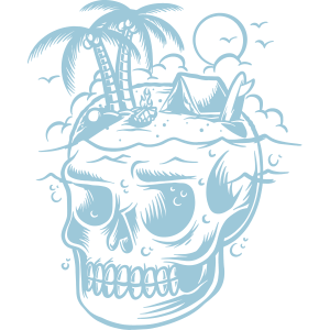 Skull surf