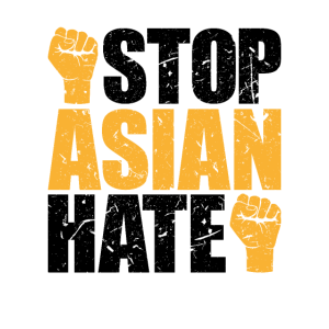 Stop Asian Hate Crimes asian community supporter