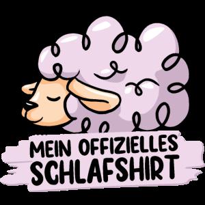 MEIN OFFIZIELLES SCHLAFSHIRT