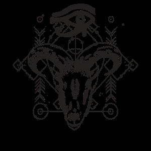 Ziege Mythisch - Auge des Ra