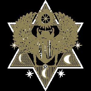 Skarabäus Mythisch Himmlisch