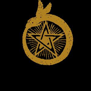 Stern Mythisch Himmlisch Schlange