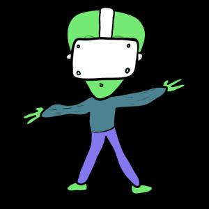 Virtuelle Realität Alien VR GAMER