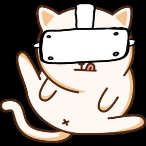 VR Katze - Virtuelle Realität