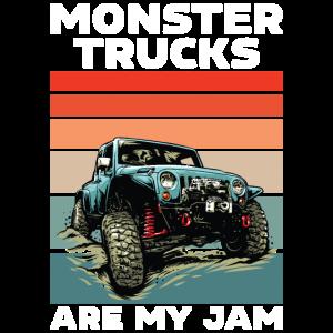 Monster Trucks Sind Meine Marmelade
