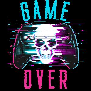 Game Over Gaming Totenkopf Kontroller