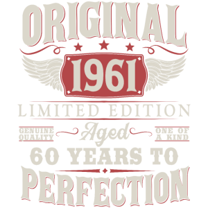 Jahrgang 1961 geboren 60 Geburtstag Geschenk