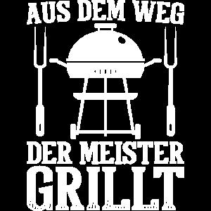Grillmeister Grillen Sommerfest BBQ Grillparty