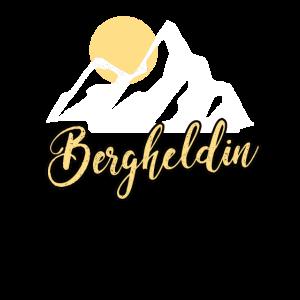Berggeherin Bergsteigerin Alpinistin Bergheldin