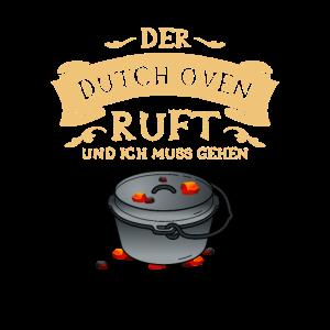 Der Dutch Oven ruft Grill Dopfen Grillen