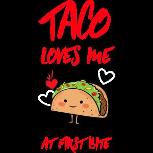 Taco liebt mich T-Shirt