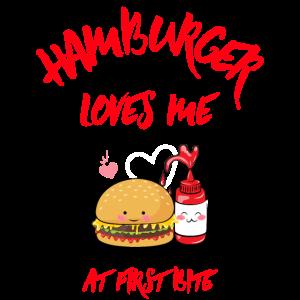 Burger liebt mich T-Shirt