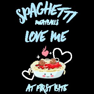 Spaghetti lieben mich T-Shirt