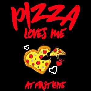Pizza liebt mich T-Shirt