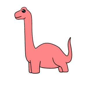 Dinosaurier Lang