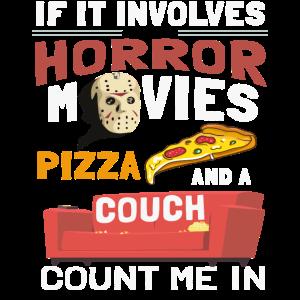 Horror Filme Pizza Und Eine Couch Geschenk