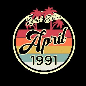 Vintage April 1991 Fun 30. Geburtstags Geschenk