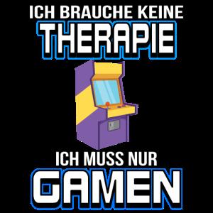 Keine Therapie Gamen Spielhalle Automat Gamer