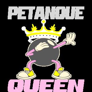 Pentaque Queen Boule spielerin