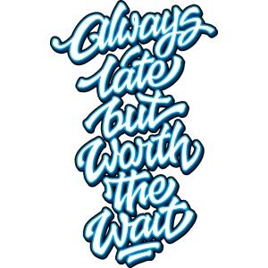 Always Late Typo 02