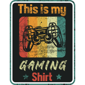 This is my gaming shirt