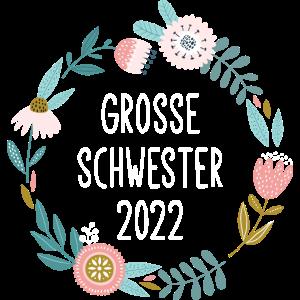 Große Schwester 2022 / Blumenkranz / Floral