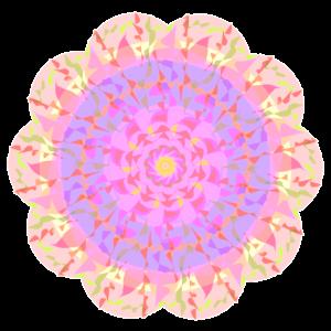 Mandala Pastellfarben
