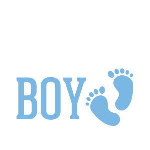Team Boy Gender Reveal Baby Shower Design