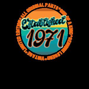 Jahrgang gegründet 1971 Geboren 1971
