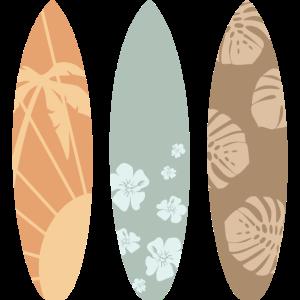 Surfboards Surfbretter Vintage