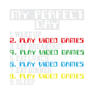Gamer Perfect Day